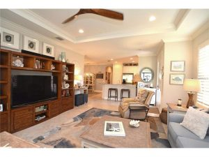 Tray Ceiling Living Area